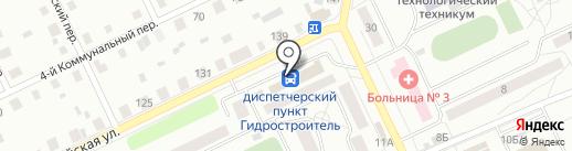 Диспетчерский пункт на карте Братска