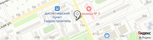 Банкомат, Восточный экспресс банк, ПАО на карте Братска