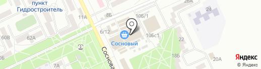 Дюймовочка на карте Братска