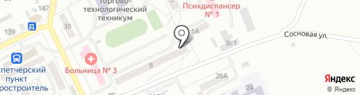 Торгово-ремонтная компания на карте Братска