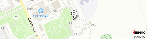 Ирис на карте Братска