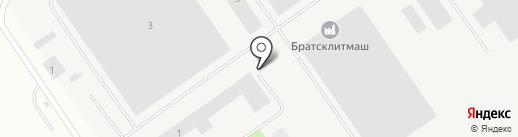 БИЗНЕС-МЕТАЛЛ на карте Братска