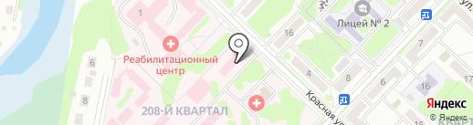 Медсанчасть №28 на карте Ангарска