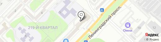 Магистральный на карте Ангарска