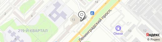 Гамма Электро на карте Ангарска