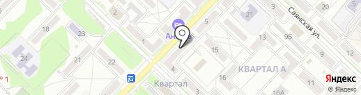 ПравоведъСибирь на карте Ангарска