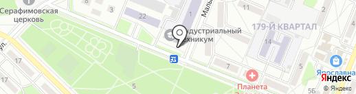 PROF.Navigator на карте Ангарска