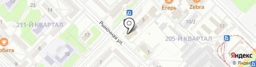 Строительно-ремонтная компания на карте Ангарска