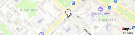 ЮНИЛАБ на карте Ангарска