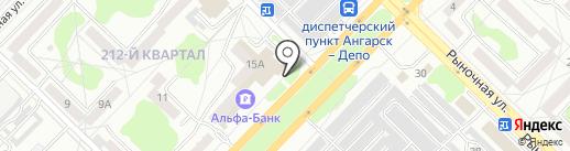 ЛИФТ на карте Ангарска