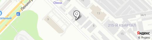 Люкс на карте Ангарска