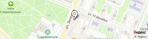 Анекс Тур на карте Ангарска