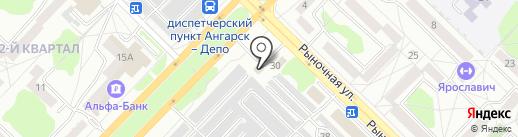 CarMaster на карте Ангарска