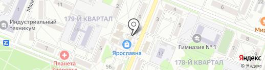 Продовольственный киоск на карте Ангарска