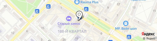 Охапка на карте Ангарска