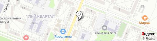 Магазин виз на карте Ангарска