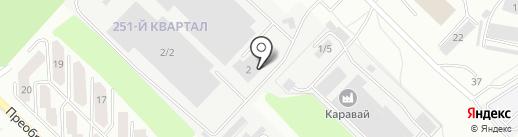 Мегаполис Иркутск на карте Ангарска