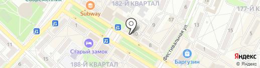 МАНО на карте Ангарска