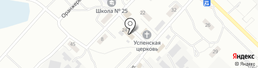 Продпромтовары на карте Ангарска