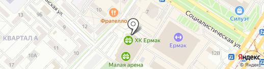 Prime Time на карте Ангарска