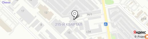 Абсолют на карте Ангарска