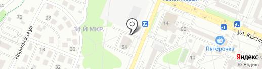 Ткаченко на карте Ангарска