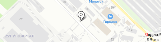 На Смаке на карте Ангарска