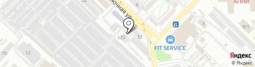 Автоспрос на карте Ангарска