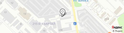 Снабстройремонт на карте Ангарска
