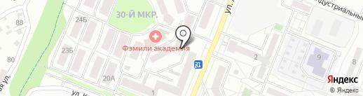 АЛЬФАКВЕСТ на карте Ангарска