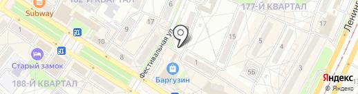 ФИШКА на карте Ангарска