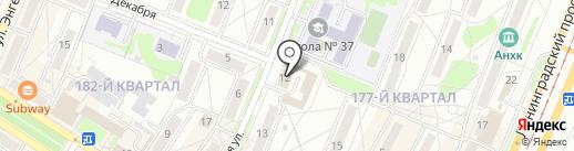 Твоё Хобби на карте Ангарска