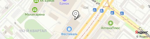 Лоцман на карте Ангарска