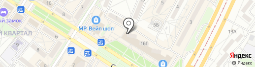 Бай-Хай тур на карте Ангарска