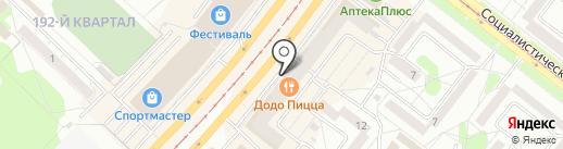 Дива-керамика на карте Ангарска