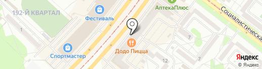 Sport Mix на карте Ангарска