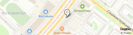 DNS TechnoPoint на карте Ангарска