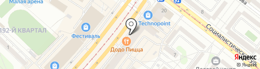 Сюрприз на карте Ангарска