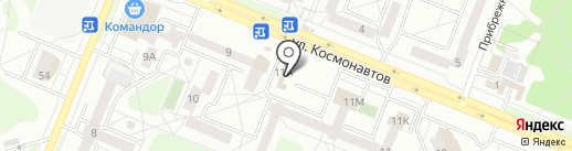 Пивкофф на карте Ангарска