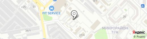 Экс фирма на карте Ангарска