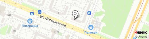 Салон цветов на карте Ангарска