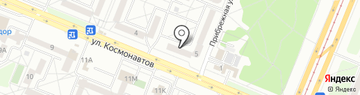 Милая безделушка на карте Ангарска