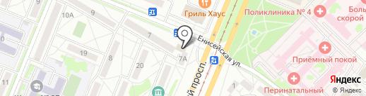 Фотокопировальный центр на карте Ангарска