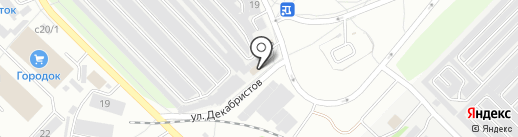 Безопасность 01 на карте Ангарска