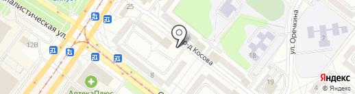 19-й микрорайон на карте Ангарска