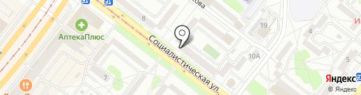 Нахаленок на карте Ангарска