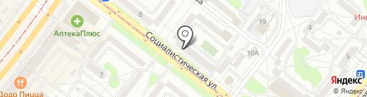 VR-angarsk на карте Ангарска