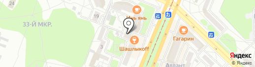 КлёвО на карте Ангарска