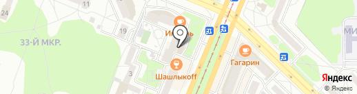 ZEN на карте Ангарска