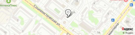 Лилия на карте Ангарска